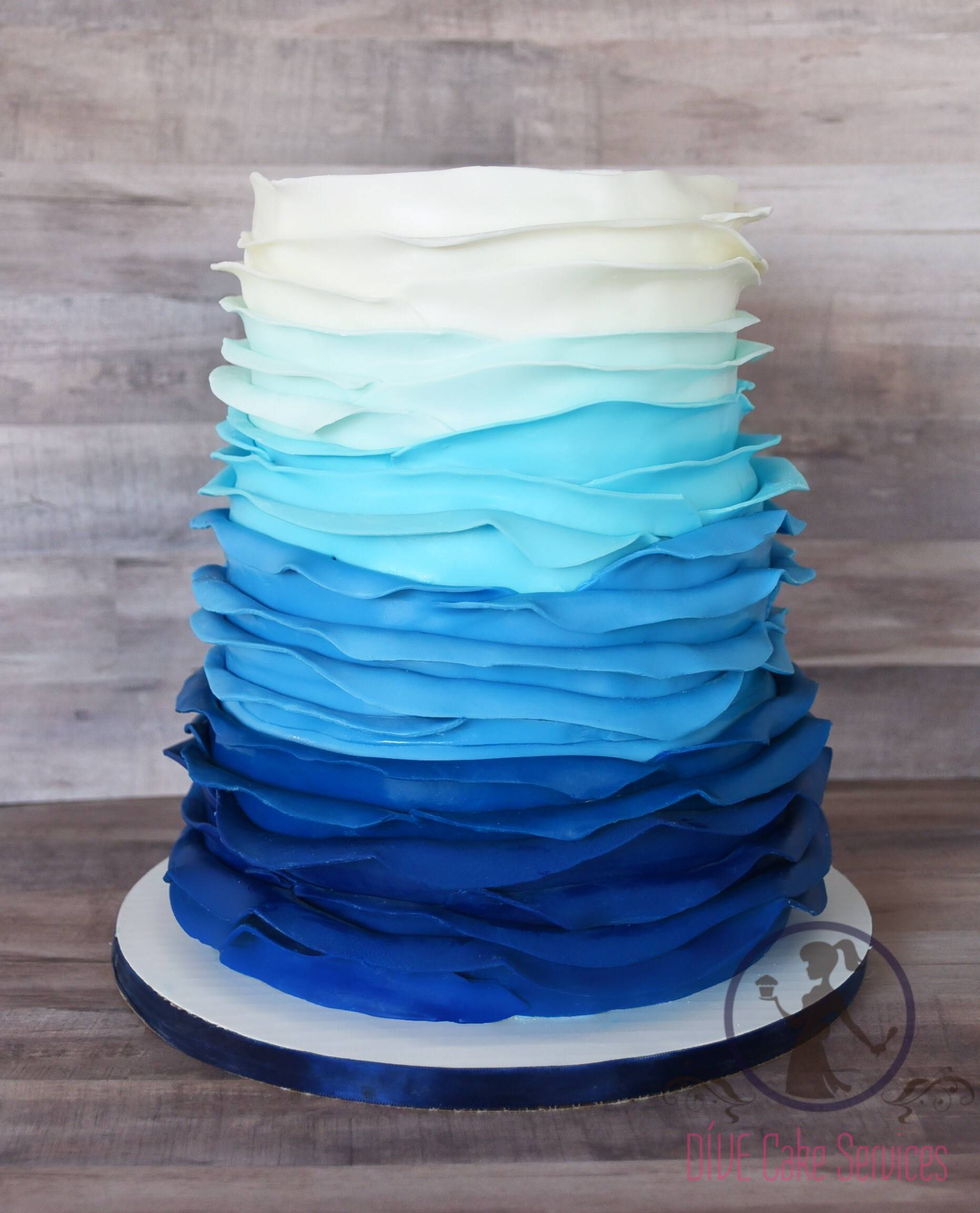 Bloom Ombre Cake