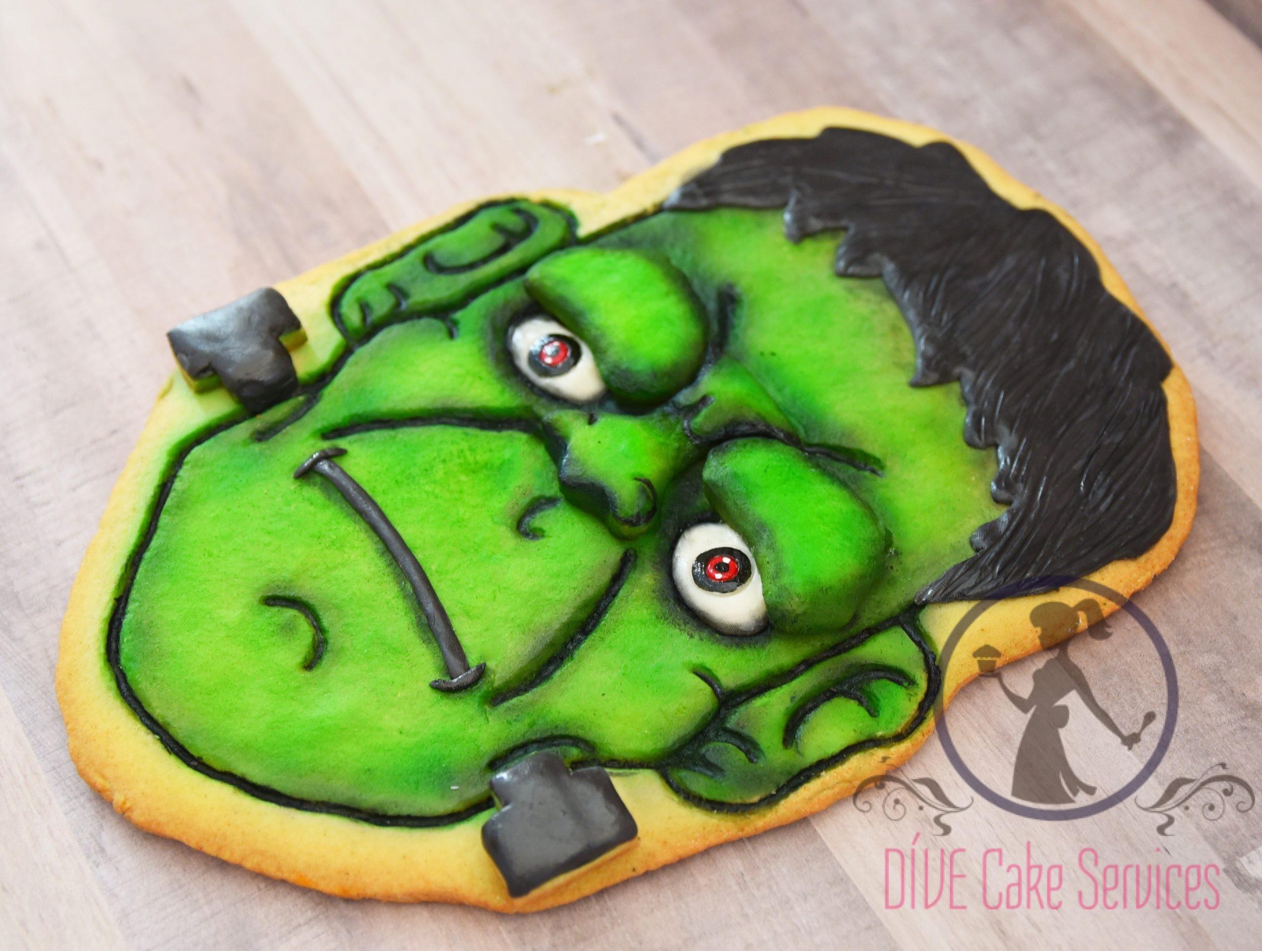 3D Frankenstein Giant Cookie